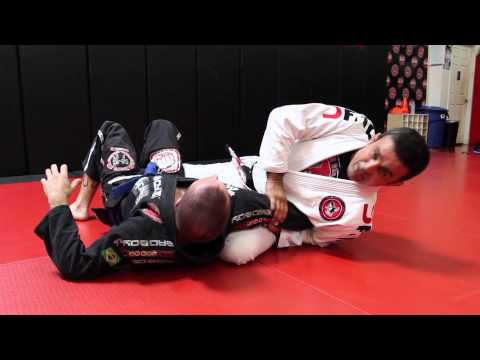 Jiu Jitsu Techniques - Side Control Smash Armbar Image 1