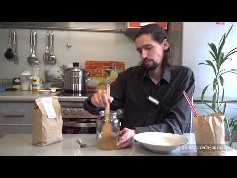Как приготовить бездрожжевой хлеб - видео