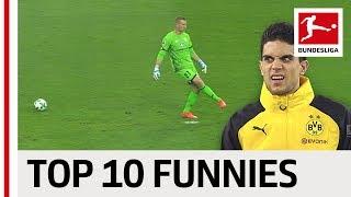 Funniest Bundesliga Moments 201718 So Far - Aubameyang, Keita, Neuer amp More