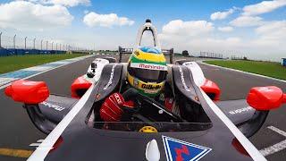 Bruno Senna onboard lap of Donington Park