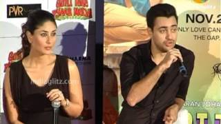 Gori Tere Pyaar Mein - Imran, Kareena At 'Gori Tere Pyaar Mein' Trailer Launch | Bollywood Movie | Karan Johar, Punit