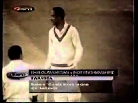 Gary Sobers - 6 Sixes In An Over video
