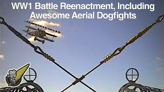 WW1 Fighter Dogfight & Reenactment 01