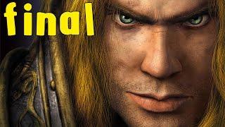 Warcraft 3: Reign of Chaos - Human Campaign - Walkthrough - Final Part 9 - Frostmourne   Ending (HD)