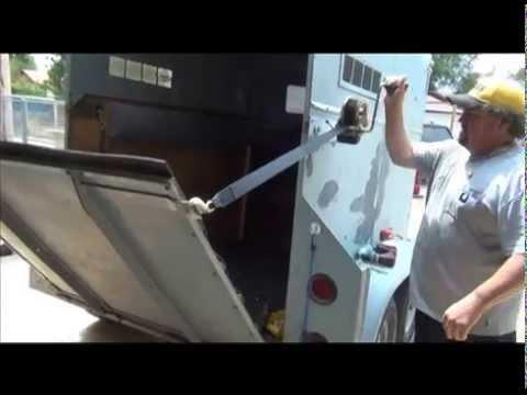 Horse Trailer Ramp Youtube