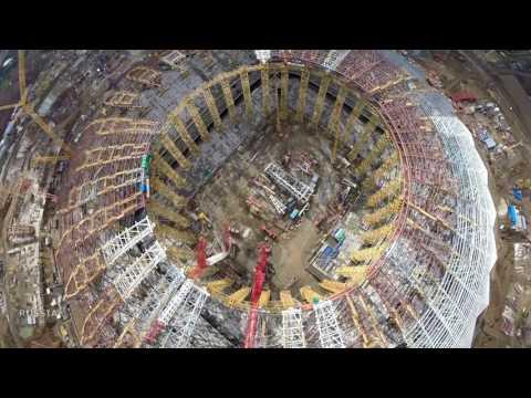 Строительство стадиона #Cамара Арена / часть 37 #Samara