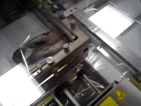 Упаковка взвешивание и маркировка замороженной рыбы
