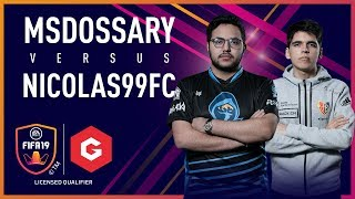 FCB Nicolas99FC vs Rogue Msdossary | Cross-console Final | #GfinityFIFA Series March LQE