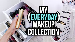 What's in my EVERYDAY MAKEUP COLLECTION? (Fall 2017 Edition) || RachhLoves