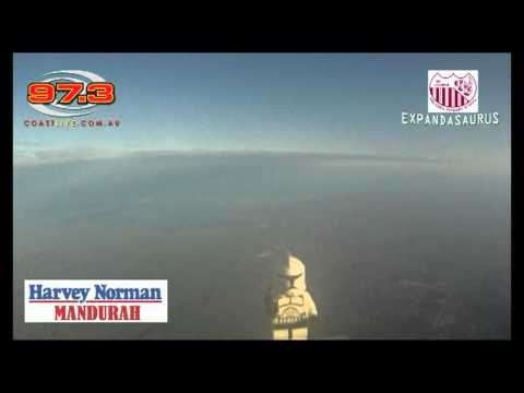 Coast FM's Near Space Program - Weather Balloon