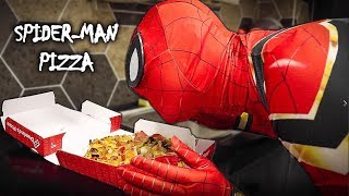 Spider-Man At Home (Pizza, Do Exercise) | Một ngày ở nhà của Spider-Man