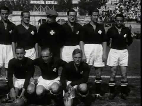 Het Nederlands elftal doet voor de eerste keer mee aan het WK voetbal in Italië. Op 27 mei 1934 speelt Oranje tegen Zwitserland in stadion San Siro te Milaan zijn eerste WK-duel: 3-2 nederlaag....