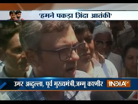 Former Jammu and Kashmir CM Omar Abdullah on J&K Terror Attack - India TV
