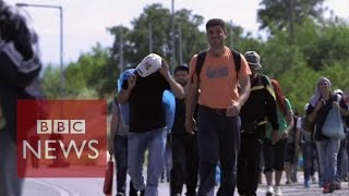 Camp of the Saints: Macedonia Being Invaded - Europe Awake!