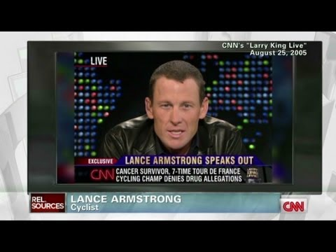 Lance Armstrong plays Oprah card