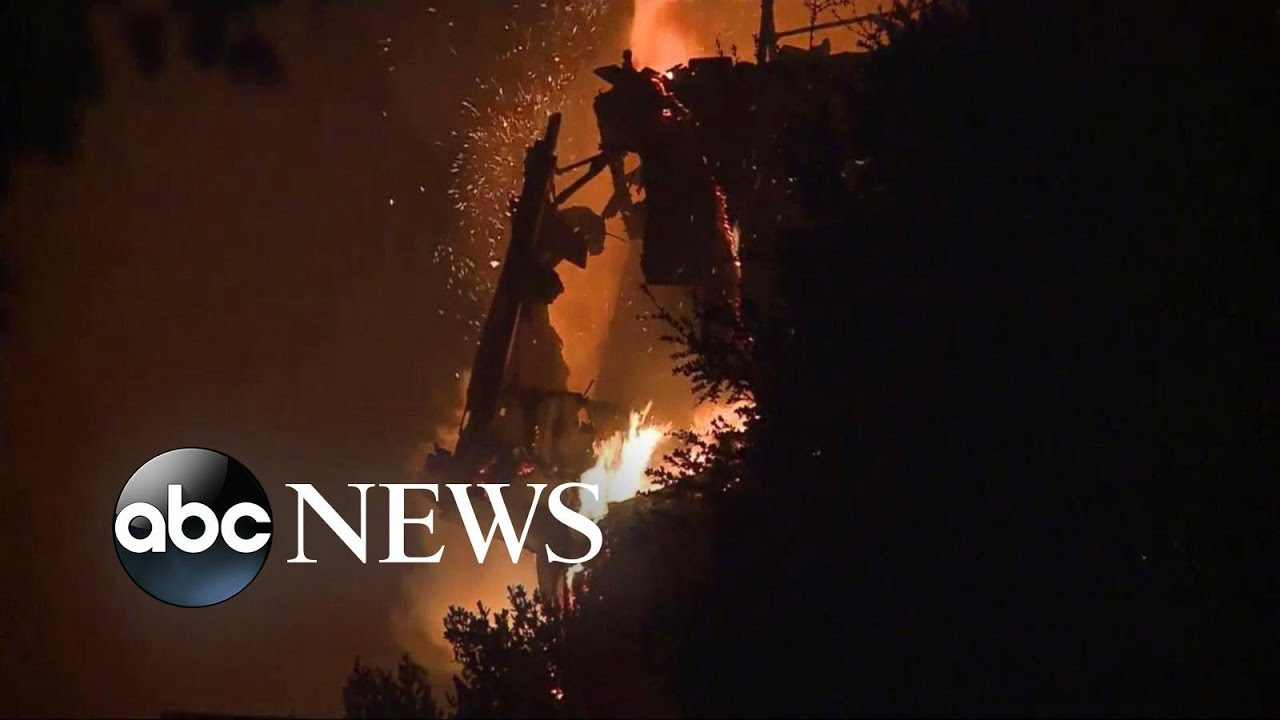 Fires in Northern California expected to spread