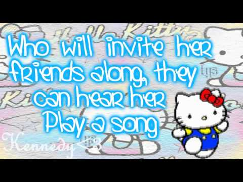 Hello Kitty (Theme Song) - Lyrics On Screen! Music Videos