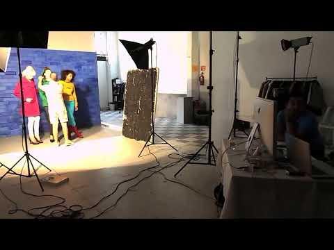Sesión Fotográfica de la Nueva Colección de Abrigos Shyla 2013