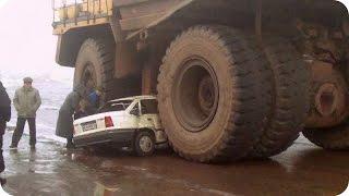 Accidentes de Camiones y Maquinaria pesada En Vivo 2017