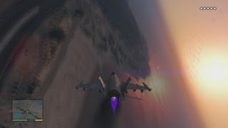 Grand Theft Auto V How to steal the Military Jet!
