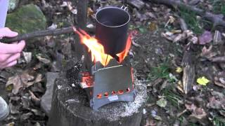 Emberlit Portable Stove Test and Overview