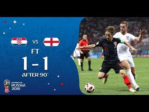 Croatia vs England 1-1 - All Goals and Highlights 11.07.2018 HD thumbnail