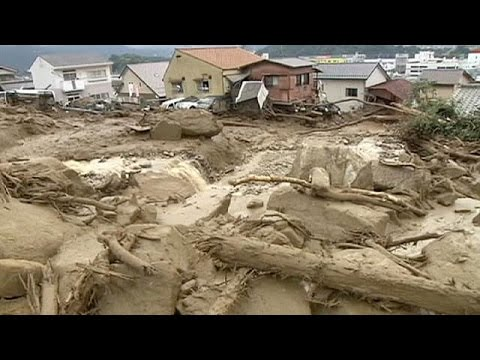 Japan: landslides hit Hiroshima killing scores of people
