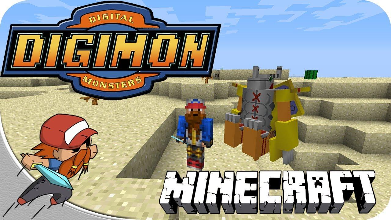 Digimon en Minecraft Episodio FIESTA DIGIMON -