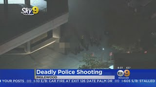 Man Brandishing BB Gun Shot, Killed By Inglewood Police
