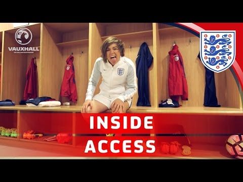 Day in the life of an England player - Media day with Fran Kirby | Inside Access