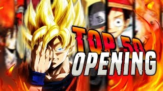 TOP 50 DE MES OPENING D'ANIME PREFERE ! 🔥🔥🔥 My Top 50 Anime Openings (All Time)