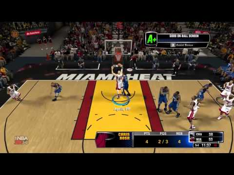 NBA 2k14 Center PF: Rebounding tips