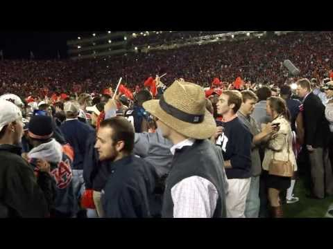 Raw #Auburn Emotion After Epic #IronBowl Win