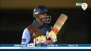 Shivnarine Chanderpaul | 87* (70 balls) against Lancashire 2013