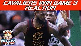 Cavaliers Win Game 3 vs Celtics Reaction | Hoops N Brews