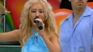 Christina Aguilera Genie In A Bottle Live Disney Summer Jam