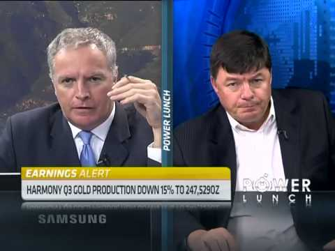 Harmony Gold Q3 Results with CEO Graham Briggs