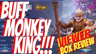 Dungeon Hunter Champions:  Viewer Box Review | Buff Monkey King