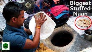 Biggest Stuff Naan in India? Chandni Chowk Indian Street Food Series