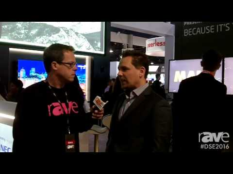 DSE 2016: Gary Kayye Speaks with NEC's CEO Todd Bouman About New Digital Signage Product Solutions