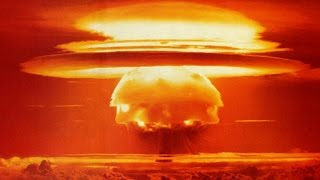 LARGEST ATOMIC BOMB EXPLOSION EVER CAUGHT ON CAMERA (1955) HYDROGEN BOMB TEST  SOVIET RDS-37 TEST