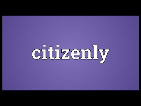 Header of citizenly