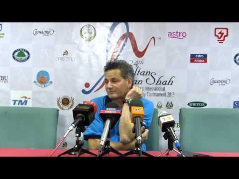 India 2 defeated by Malaysia 3 press conference post match. Azlan Shah hockey cup, Malaysia