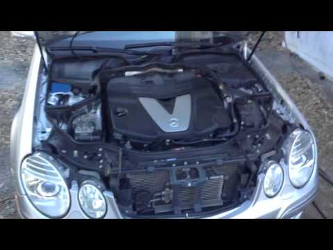 2008 Mercedes E320 BlueTec Diesel Keyless Go Cold Start