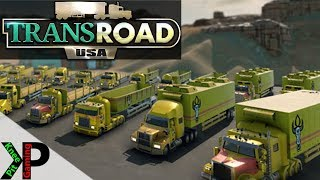 TransRoad:USA Lets Play #3 - Maintenance Eating our Profits - TransRoad:USA Gameplay