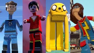 ALL Elastic Characters in Lego Videogames