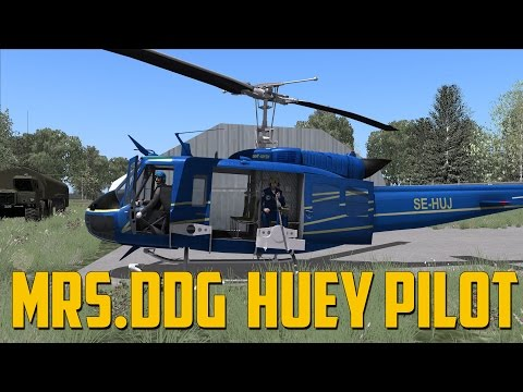DCS World - Mrs.DDG Huey Pilot