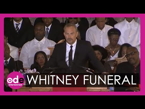 Kevin Costner's emotional speech in full at Whitn
