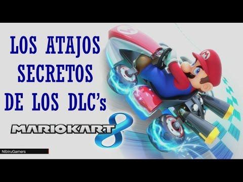 Los Atajos Secretos de los DLC's - Mario Kart 8