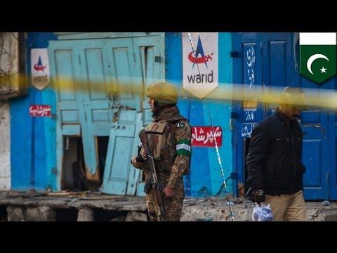 Suicide attack in Pakistan city of Rawalpindi kills 14